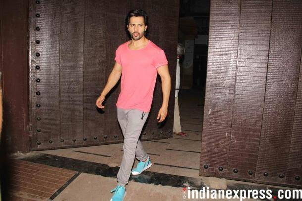 Varun Dhawan enjoys success of October