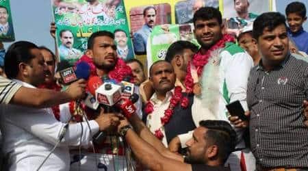Pakistan wrestler Inam Butt