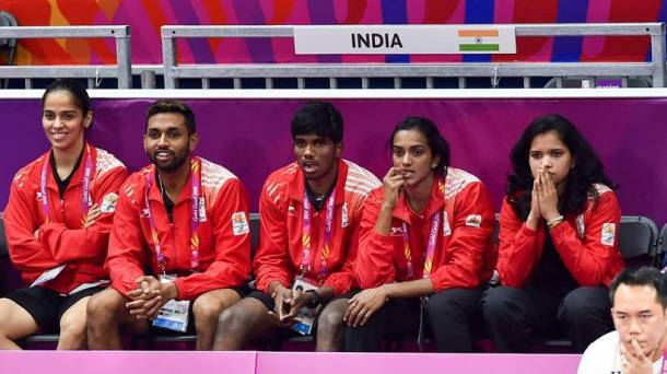 India's badminton squad good off to a good start.