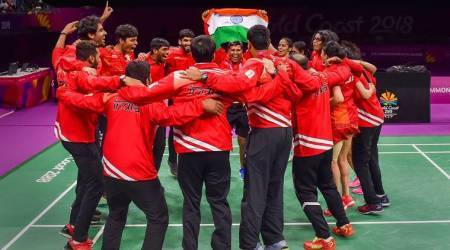 CWG 2018: India's gold rush continues as badminton, table tennis teams script historic wins