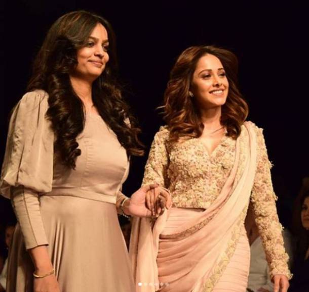 India runway week, India Fashion week Nushrat Bharucha, India Fashion week Karishma Tanna, India Fashion week Twinkle Pupreja, India Fashion week Tripti Chandak, indian express, indian express news