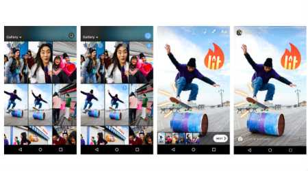 Instagram Stories now allows for uploading multiple photos, videos