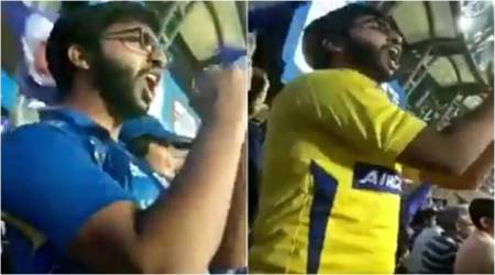 IPL 2018: This die-hard fan of Mumbai Indians and MS Dhoni shows how to support two teams in one match