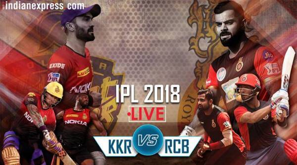 ipl 2018 live kkr vs rcb
