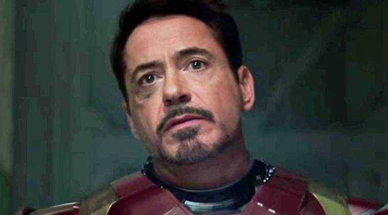 robert downey jr plays iron man in avengers infinity war