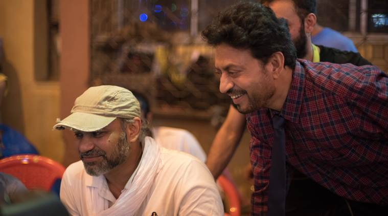 irrfan with abhinay deo on blackmail
