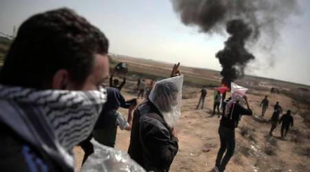 Nine killed, scores wounded by Israeli fire in Gaza protest