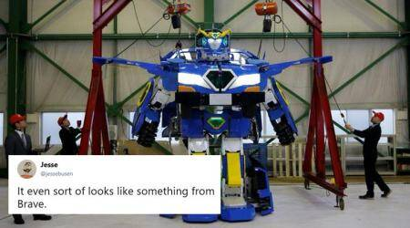 WATCH: Scene straight out of 'Transformers'? This car turns into a robot in 60 seconds!