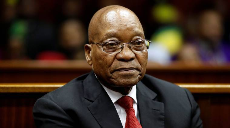 South Africa's Jacob Zuma threatens ANC enemies after graft inquiry adjourns