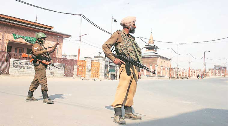 jammu kashmit, jk civilian death, kashmir killings, mha report, home ministry, indian express