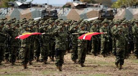 Japan activates first marines since WW2 to bolster defenses againstChina