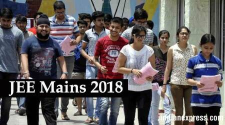 JEE Mains 2018, jeemain.nic.in, JEE Mains 2018 cut off, JEE Mains cut off, JEE Mains 2018 Paper, JEE Mains 2018 Paper Analysis, JEE Mains Easy Paper, JEE Mains Tough Paper, Education News, Latest Education News, Indian Express, Indian Express News