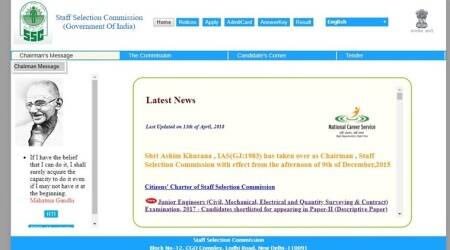 SSC JE 2017: Paper I Result declared, Paper II exams on April 29