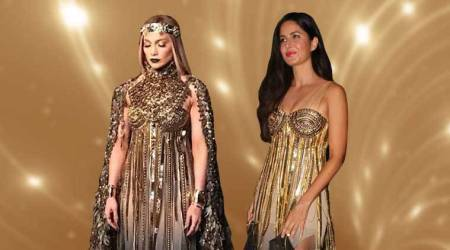 Katrina Kaif or Jennifer Lopez: Who wore the golden Abu Jani-Sandeep Khosla outfit better?
