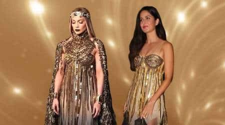 Katrina Kaif or Jennifer Lopez: Who wore the golden Abu Jani-Sandeep Khosla outfitbetter?