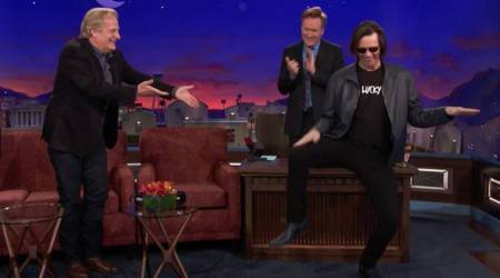 VIDEO: Jim Carrey crashes Jeff Daniels' interview for the perfect 'Dumb and Dumber' reunion