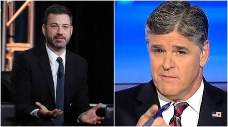 Jimmy Kimmel tries to end verbal spat with Sean Hannity