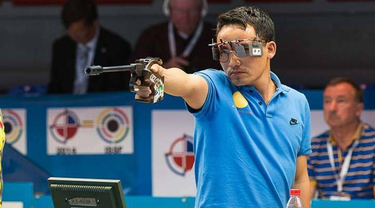 Om Prakash Mitharval, Om Prakash Mitharval news, Jitu Rai, Jitu Rai news, ISSF World Cup, sports news, Indian Express