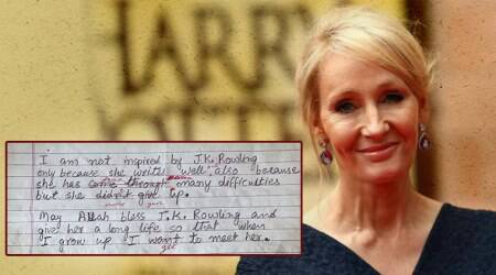 JK Rowling generously replies to a 12-year-old girl's letter from Jammu and Kashmir