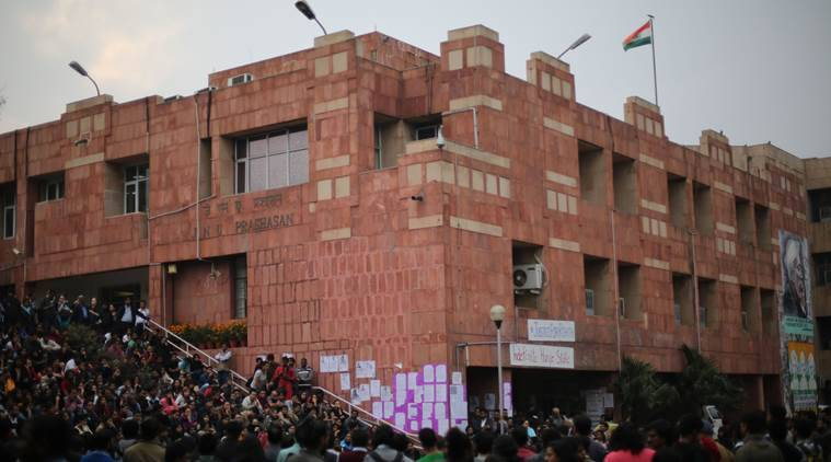 JNU student union disrupt screening of film on 'love jihad'