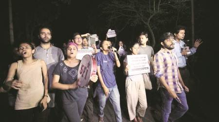 JNU tense after violence at film screening sparks protests
