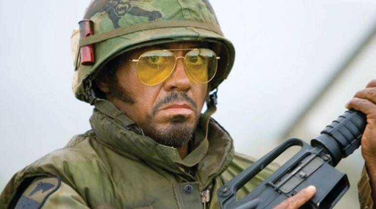 Image result for downey jr. tropic thunder