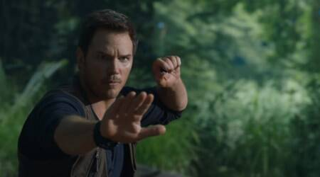 jurassic world fallen kingdom trailer chris pratt