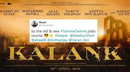 Karan Johar announces Kalank: Twitterati cannot stop gushing over the 'massive ensemble cast'
