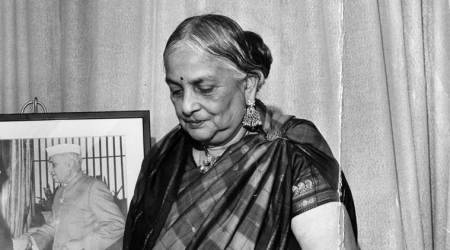 Google Doodle celebrates 115th birth anniversary ofKamaladevi Chattopadhyay