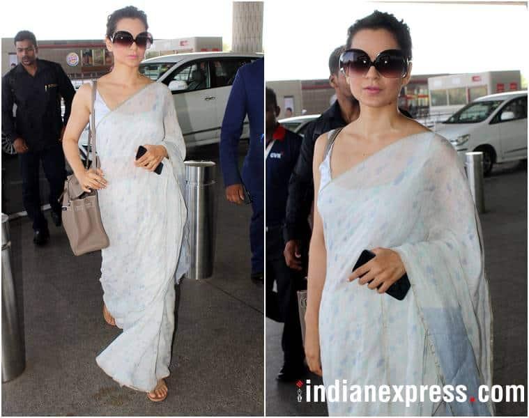 airport fashion, airport style, kangana ranaut, karan johar, anushka sharma, Karisma Kapoor, katrina kaif, esha gupta, athiya shetty, kiara advani, nushrat bharucha, celeb fashion, bollywood fashion, indian express, indian express news
