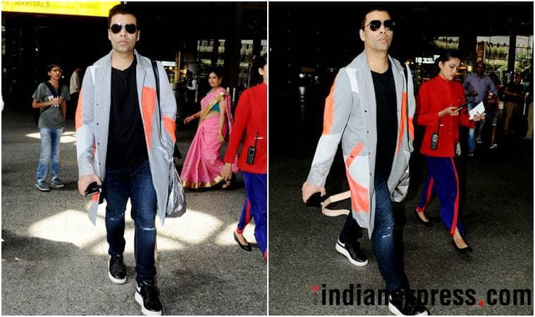 airport fashion, airport style, deepika padukone, alia bhatt, kangana ranaut, sonam kapoor, karan johar, katrina kaif, malaika arora, disha patani, neha dhupia, celeb fashion, bollywood fashion, indian express, indian express news