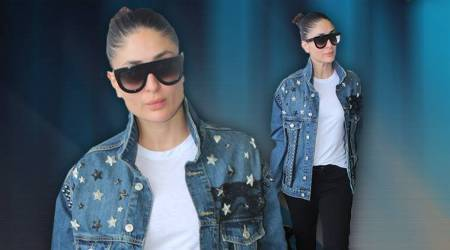 Kareena Kapoor Khan trends watch: Fringed top, embellished denim, cut-out back shirts