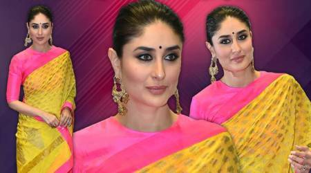 Kareena Kapoor's canary yellow sari checks all the boxes for why you should go ethnic thisseason