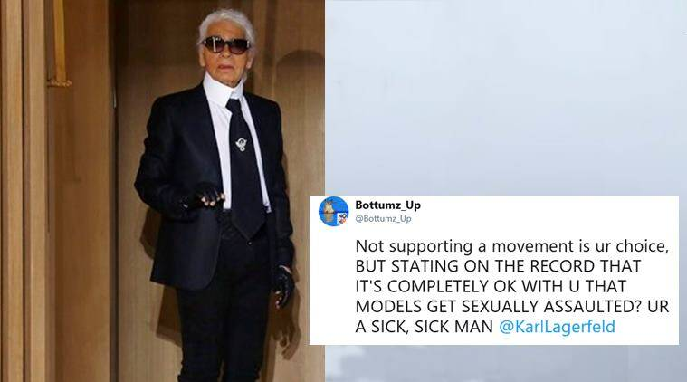 Karl Lagerfeld Slams #MeToo Movement: 'I'm Fed Up With It'""