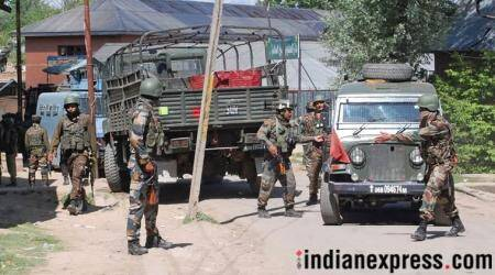 J&K: One cop dead, four security personnel injured in encounter in Batamaloo