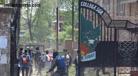 Kathua gangrape & murder: 12 students injured in clashes during protest in Kashmir
