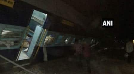 Six injured as passenger train derails in MadhyaPradesh