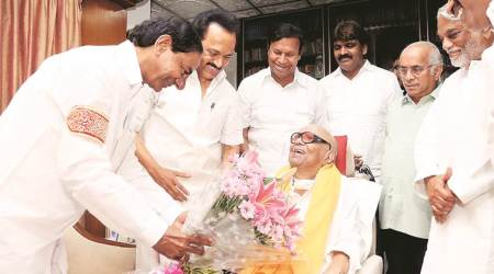Seeking front, K Chandrasekhar Rao reaches out to M K Stalin; DMK says discussed 'dictatorial' Centre