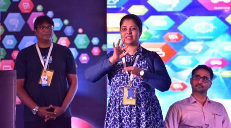 The hearing-impaired woman entrepreneur who wowed the audience at 'Huddle Kerala'conclave