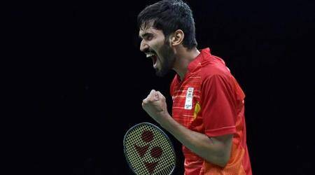 Kidambi Srikanth becomes first Indian male shuttler to rise to World No 1 ranking