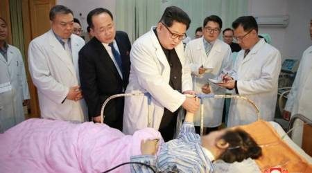 North Korea's Kim Jong Un meets Chinese envoy after deadly bus crash
