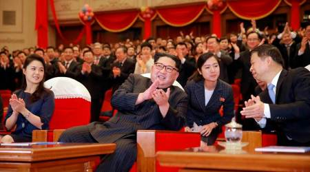 No missiles but ballet as North Korea's Kim Jong Un puts on a show