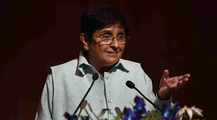 kiran bedi, Puducherry Lt governor, Puducherry free rice, Puducherry open defecation, puducherry villagers, puducherry news, indian express news