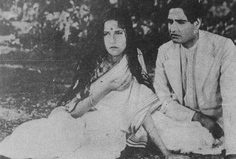 K.L. Saigal in Devdas