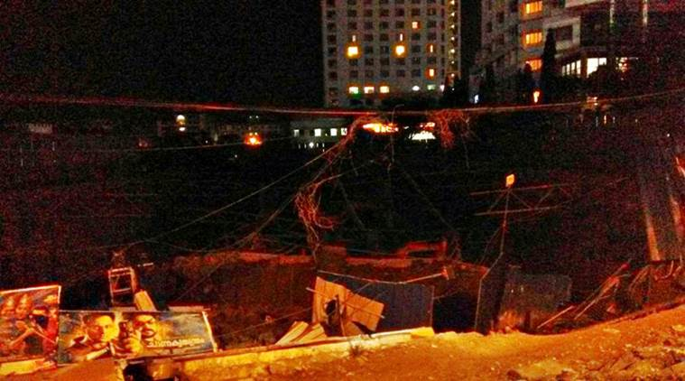 Underconstruction building collapses in Kochi, metro services partially hit