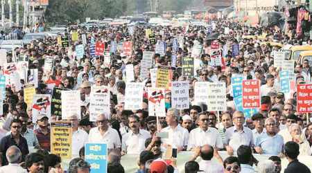 Kolkata: Intellectuals rally against communal violence