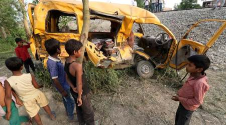 Kushinagar accident: Police say school was unrecognised, driver inexperienced