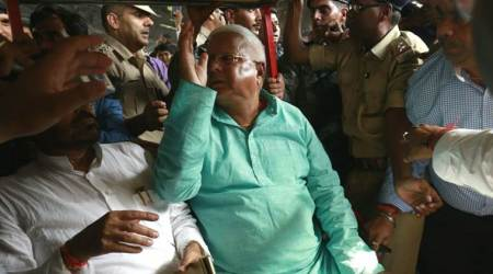 Lalu Prasad returns from Mumbai after treatment