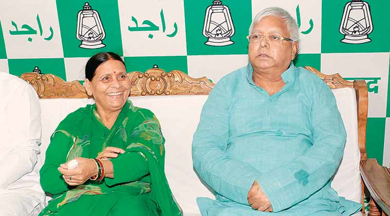 CBI chargesheets Lalu Prasad, Rabri Devi, Tejashwi Yadav in IRCTC case