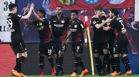 Bayer Leverkusen thump RB Leipzig to move into Champions League spot